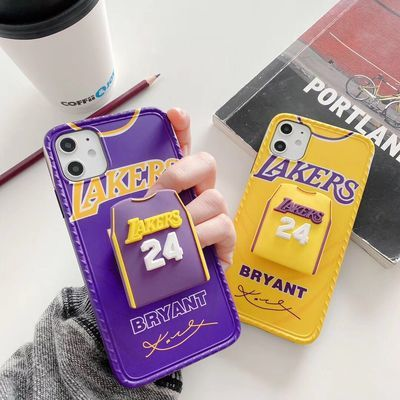 苹果xsmax手机壳NBA湖人iPhonex个性7p潮牌xr男款8plus科比11pro
