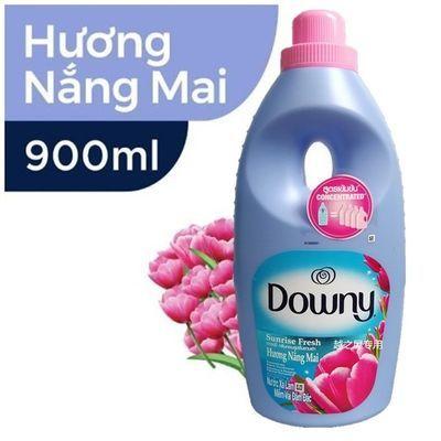 越南downy当妮柔顺剂900ml郁金香花香味洗衣物护理液去味留香持久