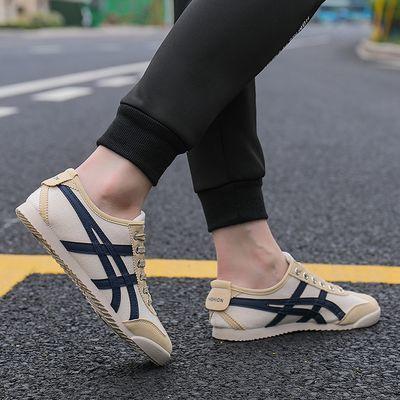 男鞋小白鞋2019新款夏季帆布休闲鞋子男运动鞋韩版潮流秋季阿甘鞋