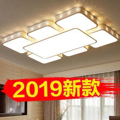 LED长方形吸顶灯超薄客厅灯现代简约大气卧室灯温馨浪漫灯饰灯具