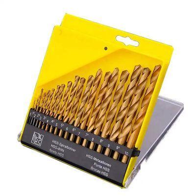 直柄不锈钢转头高速钢麻花钻头金属木工手枪电钻钻头家用工具套装