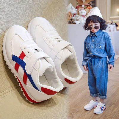 女童鞋2020新款春季韩版儿童板鞋男童软底透气小白鞋滑板休闲鞋子