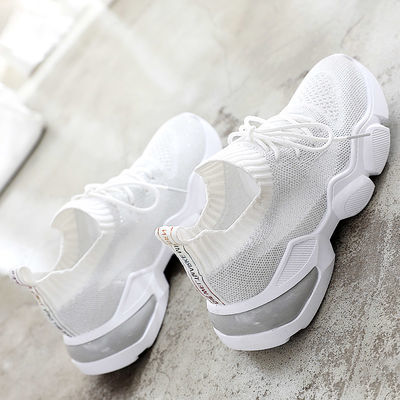 鞋子女2020年新款夏季小白鞋透气百搭学生薄款爆款运动鞋网面女鞋
