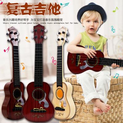 儿童尤克里里初学可弹奏音乐玩具琴吉他男女孩乐器玩具