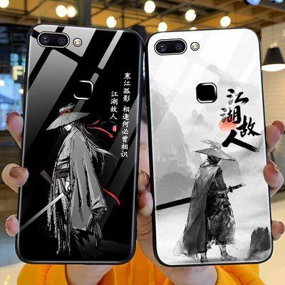 vivox20手机壳中国风江湖故人钢化玻璃x20plus保护套古风vivo新款