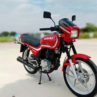 原装正品铃木王刀仔 排量125cc 跨骑助力车挂档摩托车 燃油跨骑车