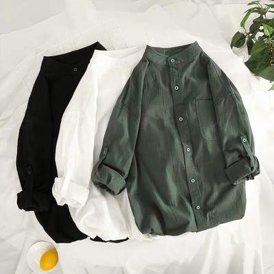 新款心机上衣欧货小衫洋气衬衫女短袖欧洲站女装宽松设计感小众学