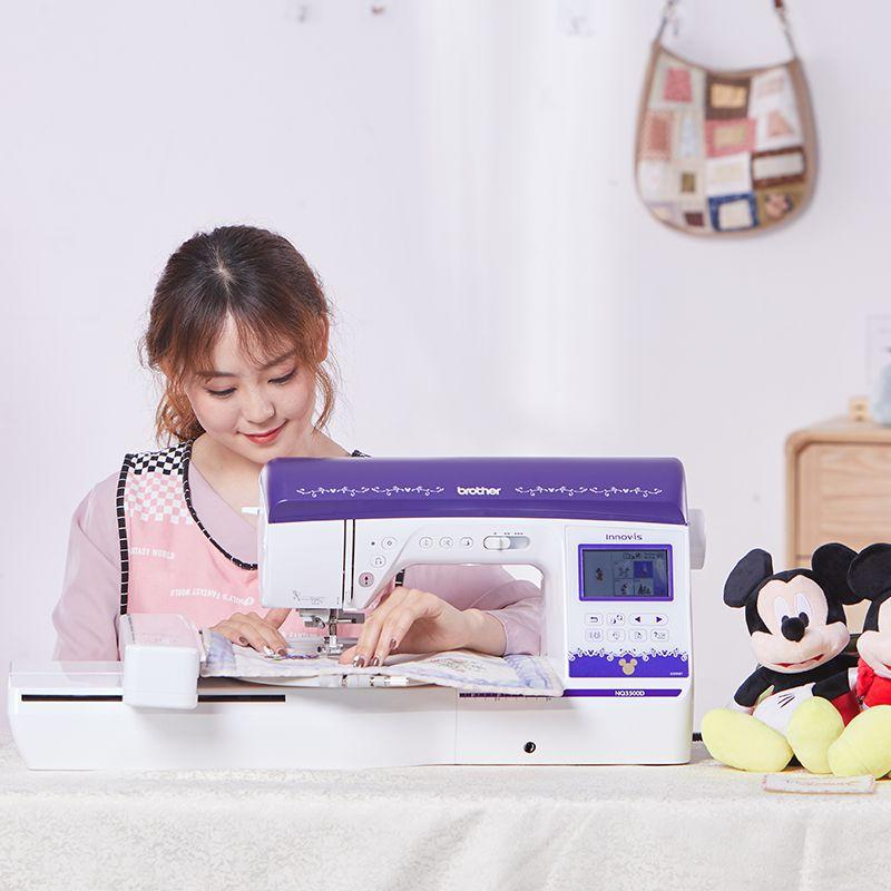 兄弟缝纫绣花一体机 兄弟牌NQ3500D卡通电脑绣花 缝绣一体机