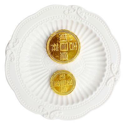 金币金元宝金花生金条巧克力散装500g活动装饰烘焙蛋糕婚庆典喜糖