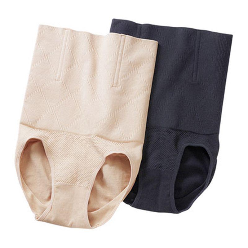 1-2件装收腹提臀产后减肥瘦肚子美体塑身衣连体三角内裤