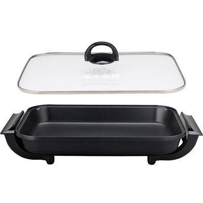 畅销爱宁302大号韩式不粘电烤盘 多功能电烤炉家用铁板烧烤肉锅烤