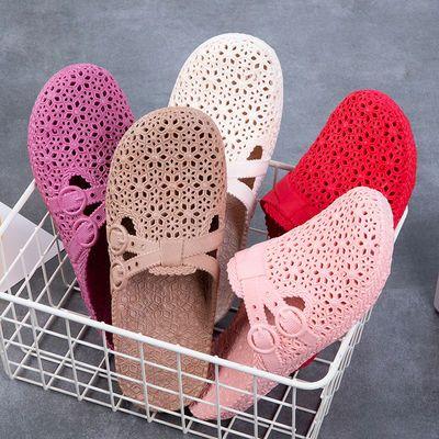 【买一送一,两双装】拖鞋女夏季洞洞鞋外穿防滑凉鞋浴室拖最新款