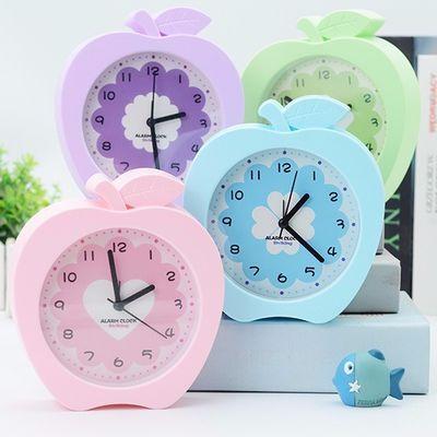 可爱卡通小闹钟儿童床头钟起床钟屋形闹钟桌面宿舍卧室摆钟台钟