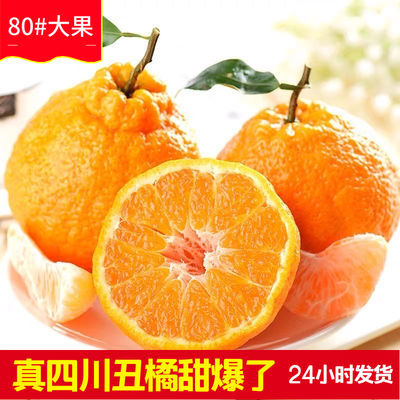 四川丑橘子不知火丑八怪新鲜水果丑橘5/1/3斤丑桔10斤装非爱媛38