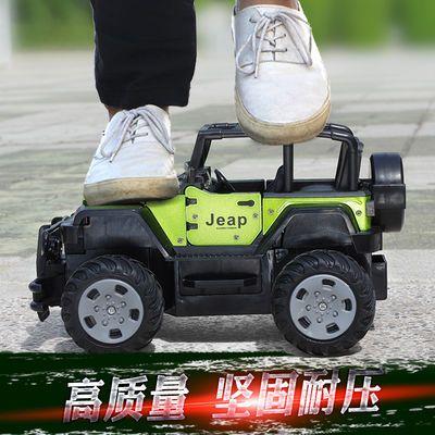 畅销合金版儿童新年礼物充电动遥控越野赛车玩具车男孩汽车3-6岁