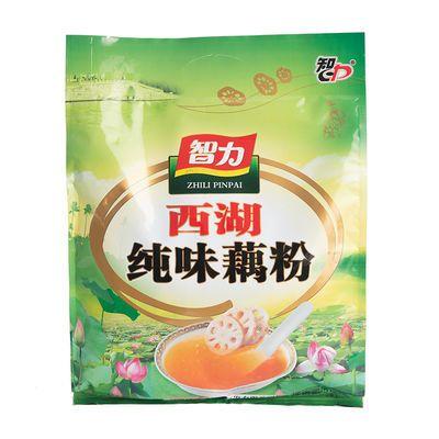 智力西湖藕粉510g中老年健康纯味藕粉羹即食营养早餐小袋装食品