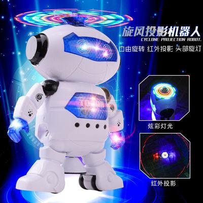 畅销充电版太空跳舞机器人 儿童玩具 带灯光音乐跳舞的电动机器人