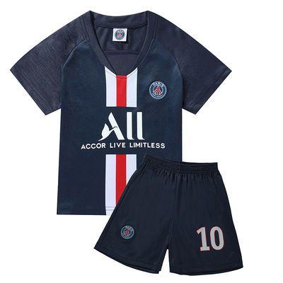 世界杯儿童足球服中大童童装夏季女童宝宝球衣男童运动服套装潮