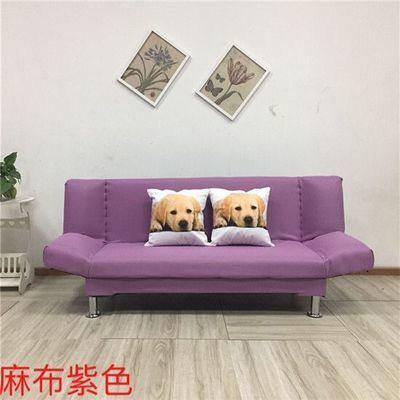 新款厂家直销折叠沙发床厅单人双人三人小户型多功能布艺沙发懒人