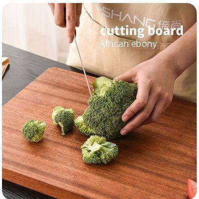 新款【整木菜板】进口乌檀木切菜板实木面板案板防霉加厚家用厨具