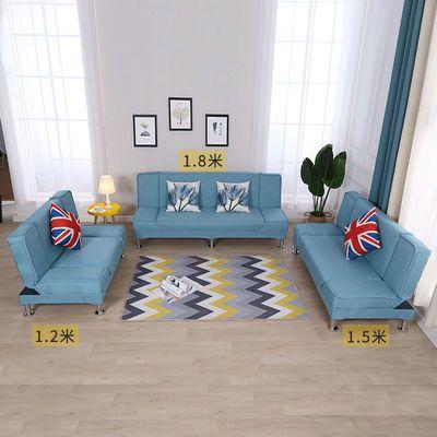 新款懒人沙发床两用客厅折叠多功能小户型出租房单人双人三人布艺