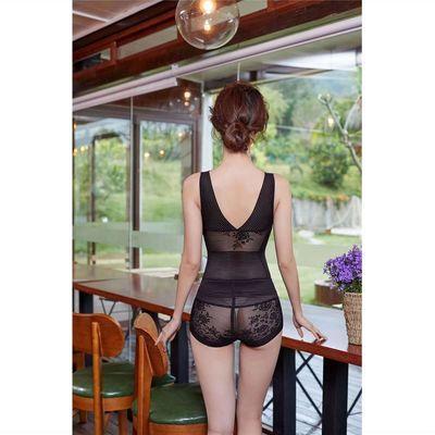 百魅女人心塑身衣正品收腹提臀瘦身无痕连体衣产后超薄美体衣