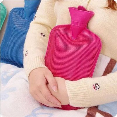 热水袋注水毛绒布套暖手宝暖脚袋暖宫袋老式橡胶加厚温暖水袋迷你