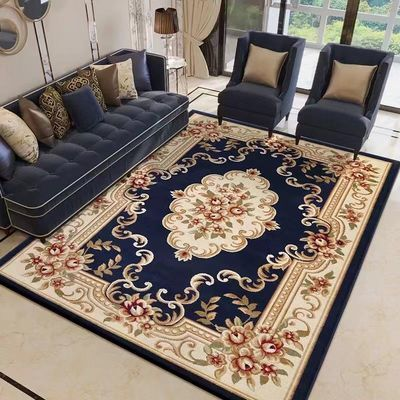 【3.6斤/�O 厚1.5cm】欧式地毯客厅沙发茶几卧室床边毯美式仿羊毛
