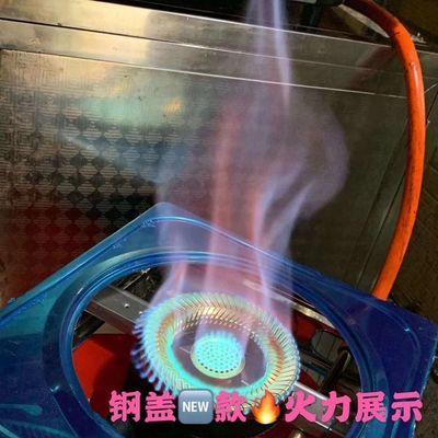 普通家用台式120煤气灶火盖分火器铸铁炉头燃烧器猛火灶具配件