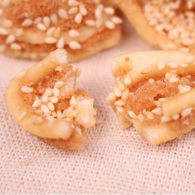 芝麻猫耳朵酥零食必备网红休闲食品春游童年怀旧传统香脆饼干锅巴