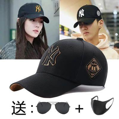 帽子男潮休闲韩版时尚潮牌鸭舌帽网红夏季棒球帽女男生酷帅男帽的
