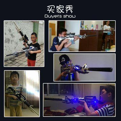 儿童玩具枪穿越火线水弹抢雷神狙击电动可发射子弹ak47火麒麟无影