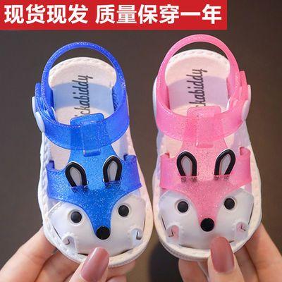 婴儿洋气儿童凉鞋包头防滑学步鞋夏季软底小童女网红男女宝宝凉鞋
