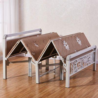折叠床单人床成人双人床午休床铁艺木板床儿童陪护简易床可折叠床