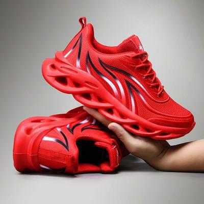 新款2020春秋季风烽火刀锋鞋子韩版潮流鞋男士透气百搭增高跑步运