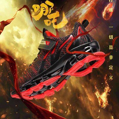努比龙夏季镂空儿童运动鞋透气网面休闲运动鞋儿童鞋子男孩跑步鞋