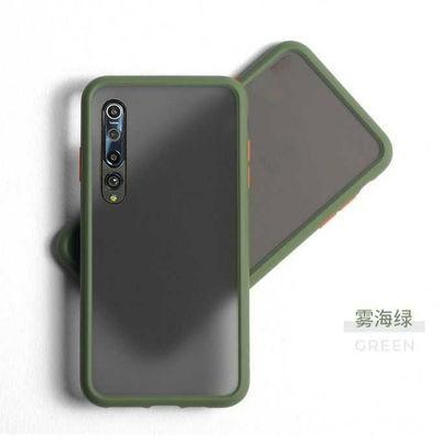 小米10手机壳防摔磨砂透明男女Xiaomi10撞色磨砂新款网红潮手机套