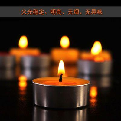 酥油灯1/2/4/8/小时100粒供佛灯长明灯无烟蜡烛香薰茶蜡佛教用品