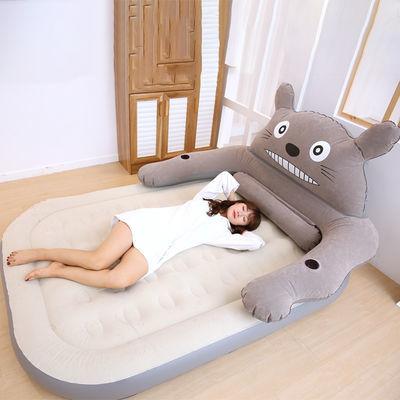 2020新款龙猫懒人沙发充气床垫可爱卡通榻榻米床垫单人双人家用卧