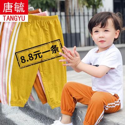 夏季儿童防蚊裤运动女童休闲夏装薄款男童宝宝潮灯笼长裤子