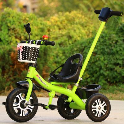 新款儿童三轮车脚踏车幼儿手推车2-6岁大号男女孩脚蹬单车儿童自