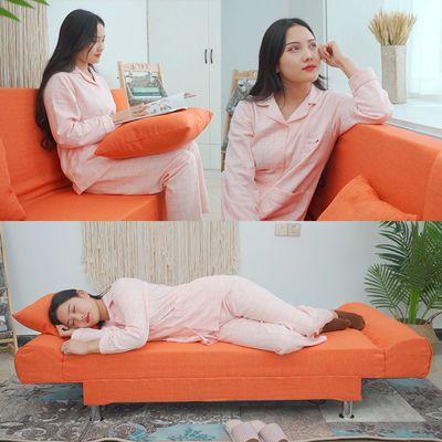 新款新品小户型折叠沙发客厅卧室两用简易折叠床公寓出租房多功能