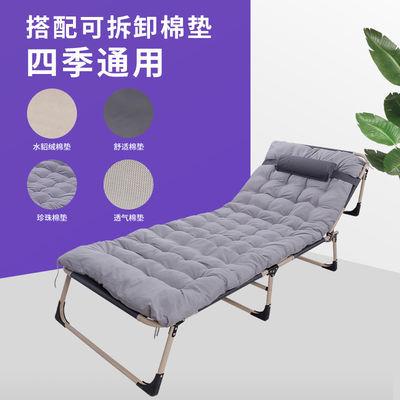 新款新品折叠床单人床家用简易午休床办公室成人午睡行军床多功能