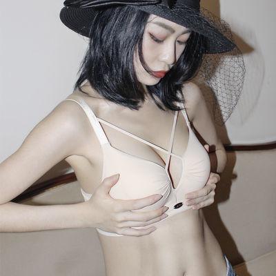 小胸神器女聚拢加厚不空杯小aa杯内衣女无钢圈小胸平胸专用文胸罩