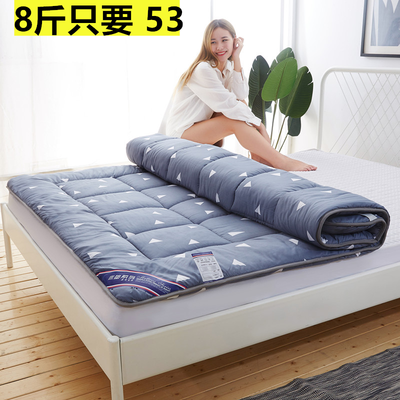 72529/加厚四季床垫1.5米单 双人羊羔绒榻榻米0.9学生宿舍褥子2.0X2X2.2