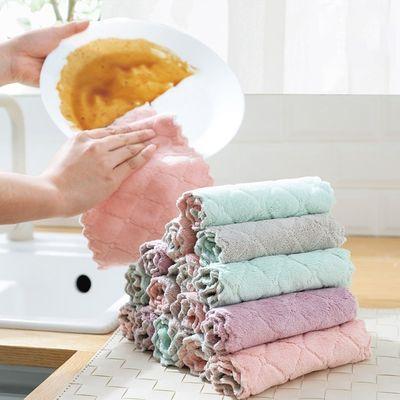 洗碗布创意家居生活日用品百货小商品厨房清洁神器双层洗碗布