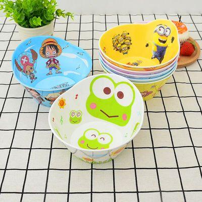 儿童碗餐具套装防摔家用宝宝吃饭碗可爱卡通碗小孩专用碗盘宝宝碗
