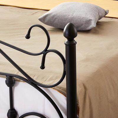 新款新品现代简约铁艺公主床铁艺床1.2米单人床成人1.5米1.8米双