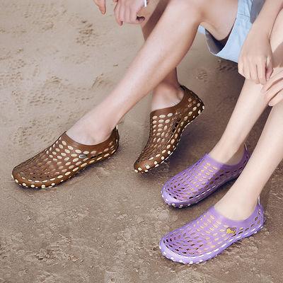 洞洞鞋女鞋男夏季凉拖鞋防滑凉鞋透气沙滩鞋户外涉水鞋钓鱼开车鞋