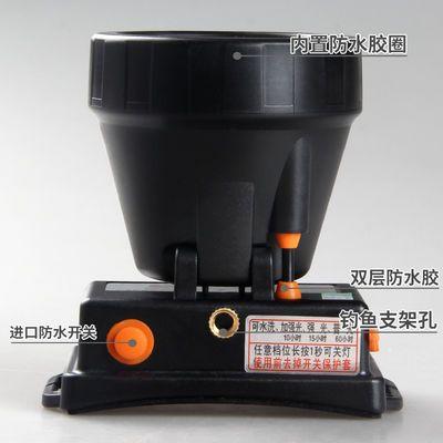 爆款雅尼726钓鱼头灯强光充电超亮头戴式手电筒led户外远射夜钓灯
